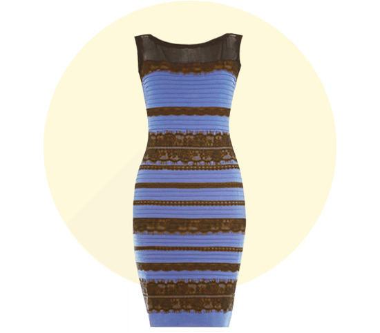 optical illusion patterned dress